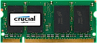 SO-DIMM 4GB DDR2-800 MHz Crucial CL6 - CT51264AC800