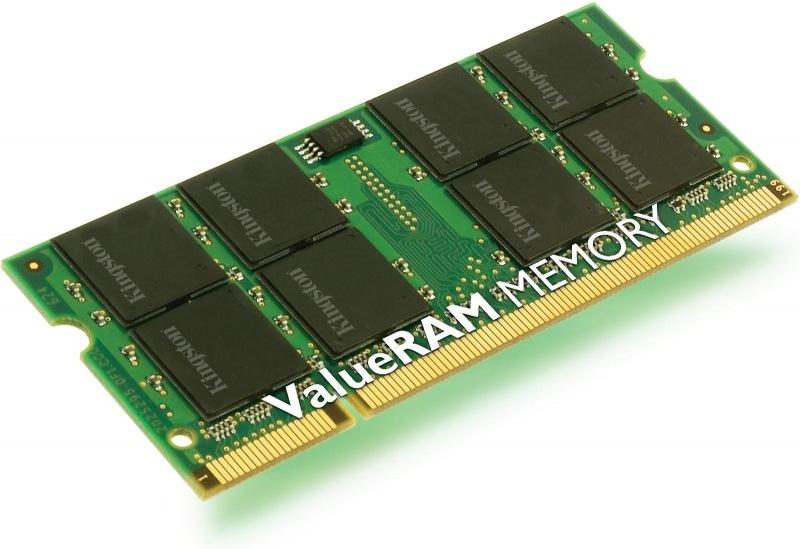 Kingston, 667Mhz, 1GB, SO-DIMM DDR2 ram - KVR667D2S5/1G