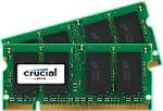 Obrázok produktu Crucial, 800MHz, 2x2GB, SO-DIMM DDR2