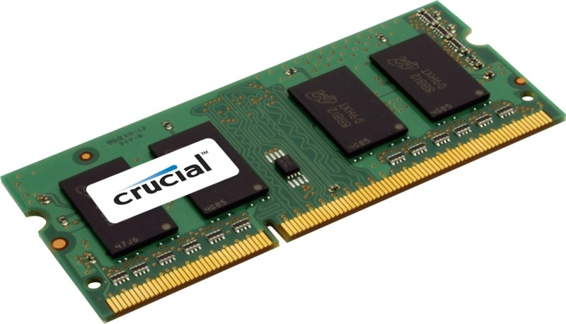 Crucial, 1600Mhz, 4GB, SO-DIMM DDR3L ram - CT51264BF160BJ