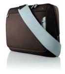 "Obrázok produktu brašňa Belkin Neoprene Messenger Bag 17"", hnedo-modrá"