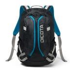"Obrázok produktu Dicota Backpack Active 14-15, 6"" černo / modrá"