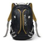 "Obrázok produktu Dicota Backpack Active 14-15, 6"" černo / žlutá"