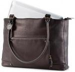 """Obrázok produktu HP Ladies Brown Leather Tote, 15.6"""", hnedá"""