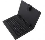 Obrázok produktu Esperanza EK127 MADERA klávesnica+puzdro pre tablet 7.85 / 8, USB,  eko koža,  čierne