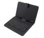 Obrázok produktu Esperanza EK128 Madera klávesnica + puzdro pre tablet 9 , USB, eko koža, čierne