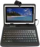 """Obrázok produktu iGET F7B púzdro 7"""" s klávesnicou, čierne"""