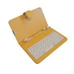 Obrázok produktu ART puzdro + klávesnica micro + mini USB pre TABLET 7 , žltá farba, AB-101D