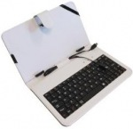 Obrázok produktu ART AB-101A púzdro + klávesnica micro + mini USB, pre TABLET 7, biele