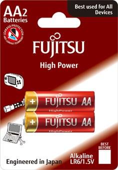 Fujitsu High Power alkalická batéria LR06  - FU-LR06HP-2B