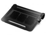 Obrázok produktu chladicí ALU podstavec Cooler Master NotePal U3 PLUS pro NTB 15-19   black,  3x8cm fan
