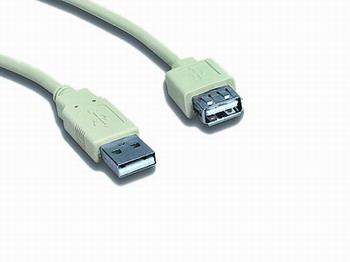 Gembird kábel USB 2.0 - CC-USB2-AMAF-75CM