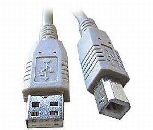 kábel USB, A na B, 4,5m  - CCP-USB2-AMBM-15