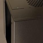 Obrázok produktu Netrack závesný rack 10   6U / 300 mm,  farba grafit,  sklenené dvere