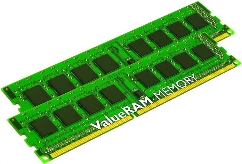 Kingston, 1333Mhz, 2x4GB, DDR3 ram - KVR13N9S8K2/8