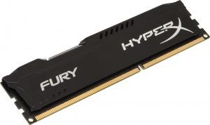 Obrázok produktu Kingston HyperX Fury Black, 1600Mhz, 8GB, DDR3 ram, auto-pretaktovanie