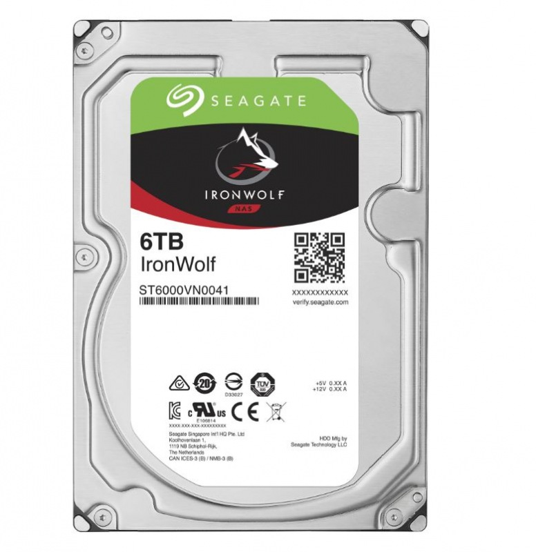 HDD 6TB Seagate IronWolf 128MB SATAIII 7200rpm NAS - ST6000VN0041