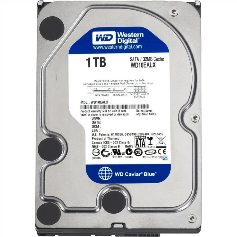 Western Digital Blue - WD10EZEX