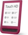 Obrázok produktu Pocketbook 631 Touch HD,  červený