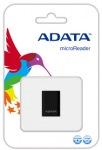 Obrázok produktu ADATA micro čítačka, USB, čierna