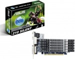 Obrázok produktu ASUS nVidia GeForce EN210 SILENT/DI/1GD3/V2(LP), 1GB