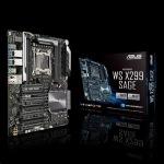 Obrázok produktu ASUS WS X299 SAGE  X299   soc.2066 C422 DDR4 ATX 7xPCIe RAID 2xGL  USB3.0
