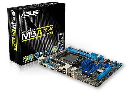 ASUS M5A78L-M LX3 - M5A78L-M-LX3