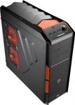 Obrázok produktu AeroCool XPredator X1 Evil Black Edition, čierno-oranžová