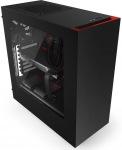 Obrázok produktu NZXT Source 340, čierno-červená