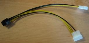 Redukce 6 PIN konektoru pro PCI-E karty ze zdroje - CC-PSU-6