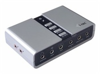 i-Tec 7.1 Channel Audio Adapter - USB71AA