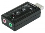 Obrázok produktu Manhattan Sound card Hi-Speed USB virtual 3D 7.1 with volume control