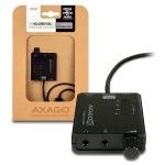Obrázok produktu AXAGON USB2.0 - HQ audio 96kHz S / PDIF+sl. zes.