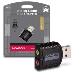 Obrázok produktu AXAGON ADA-17,  USB2.0 - stereo HQ audio MINI adapter 24bit 96kHz