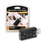 Obrázok produktu AXAGO,   ADA-20,  virtual 7.1 Audio adaptér,  USB 2.0