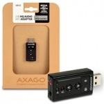 Obrázok produktu AXAGO,  ADA-25,  stereo HQ audio adaptér,  24bit 96kHz,  S / PDIF output,  USB 2.0