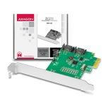 Obrázok produktu AXAGON PCIe řadič 2x int. SATA III 6G ASMedia