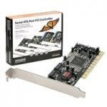 Obrázok produktu AXAGO,   PCIS-50,  PCI karta,  4x SATA I,  radič,  RAID