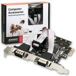 Obrázok produktu AXAGO PCEA-S2, 2x sériový port + LP, PCI-Express