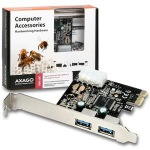 Obrázok produktu AXAGO PCEU-23E, 2x USB3.0, PCI-Express