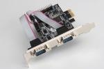 Obrázok produktu i-Tec PCI2S1P, 2x serial, 1x parallel, PCI