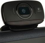 Obrázok produktu Logitech B525 HD, webkamera HD 720p, mikrofón, 360°otočenie, USB, 2MPix, čierna