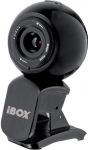 Obrázok produktu I-Box VS-1B Pro, webkamera, mikrofón, USB, 360°otočenie, 1.3MPix, čierna