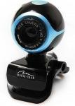 Obrázok produktu Media-Tech Look II, webkamera, mikrofón, 640x480, čierno-modrá