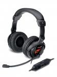 Obrázok produktu Genius HS-G500V, drôtové, herné slúchadlá s mikrofónom, vibrácie, čierne