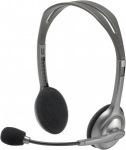 Obrázok produktu Logitech H110, PC slúchadlá s mikrofónom, šedé