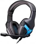 Obrázok produktu C-TECH Nemesis GHS-13, drôtové herné slúchadlá, výklopný mikrofón, čierno-modré