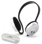 Obrázok produktu Titanum TH111 SWING Bezdrôtové slúchadlá,  FM rádio,  bielo-čierne