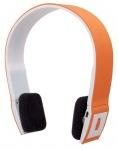 Obrázok produktu Manhattan FreeStyle, bezdrôtové, bluetooth slúchadlá s mikrofónom, oranžové
