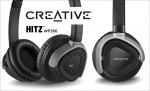 Obrázok produktu Creative Hitz WP380, berzdrôtové, bluetooth slúchadlá s mikrofónom, čierna